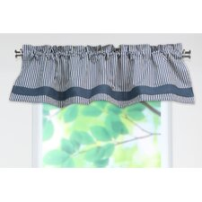 Cornell Cotton Rod Pocket Tailored Curtain Valance