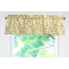 Findlay Apricot Rod Pocket Tailored Curtain Valance