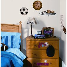 Play Ball Peel and Stick Wall Sticker