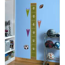 Play Ball Peel and Stick Growth Chart
