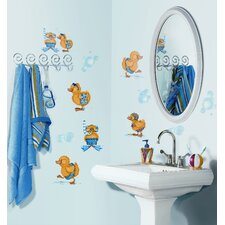 Bubble Bath Peel and Stick Wall Sticker
