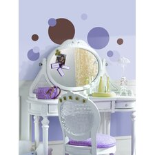 Just Dots Peel and Stick Wall Sticker in Purple and Brown