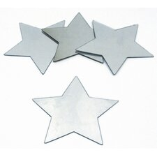 Star Small Peel and Stick Mirror (Set of 4)