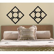 2-Piece Trellis Peel and Stick Wall Decal
