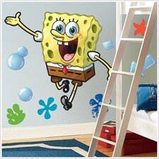 Nickelodeon SpongeBob SquarePants Giant Peel and Stick Wall Decal