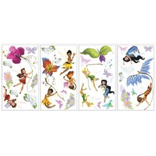 Licensed Designs Disney Fairies Peel and Stick Wall Decal Us Only