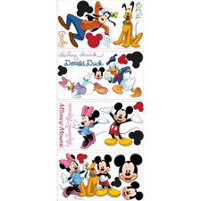 Licensed Designs Mickey and Friends Peel and Stick Wall Decal