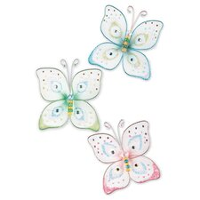 Butterfly Kisses Wall Charm