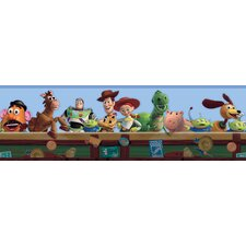 Toy Story Border in Blue