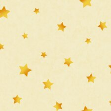 Toy Story Stars Wallpaper in Cream