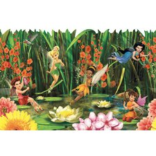 Fairies and Lily Pads Border