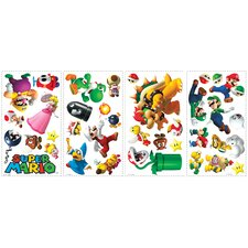 Super Mario Peel and Stick Wall Decal