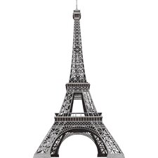 13-Piece Eiffel Tower Peel and Stick Giant Wall Decal