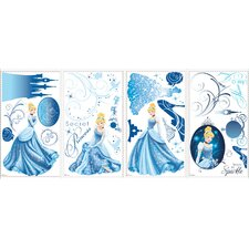 Disney Princess Cinderella Glamour Peel and Stick Wall Decals