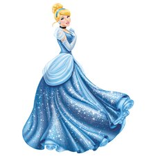 Disney Princess Cinderella Glamour Peel and Stick Giant Wall Decal