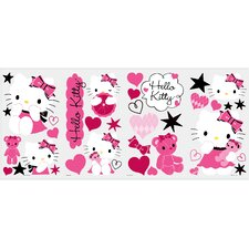 Hello Kitty Couture Peel and Stick Wall Decals