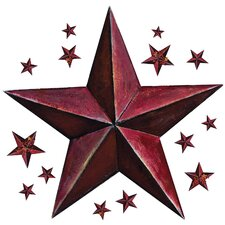Peel & Stick Giant Barn Star Wall Decal