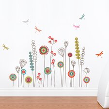 Mia & Co Garden Wall Decal