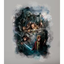 Peel & Stick The Hobbit Cast Ensemble Wall Graphix