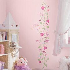 Fairy Princess Peel and Stick Growth Chart