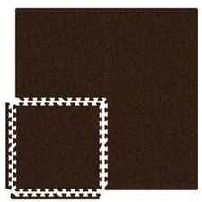 Economy SoftCarpets Set in Brown