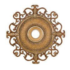 "Napoli 38"" Ceiling Medallion in Tuscan Patina"