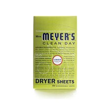 Lemon Verbena Dryer Sheet (80 Pack)