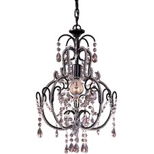 1 Light Mini Chandelier