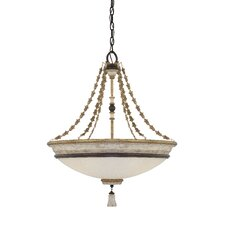 Accents Provence 4 Light Bowl Pendant