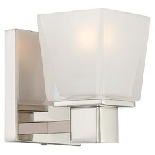 Barclay Square Bath 1 Light Bath Vanity Light
