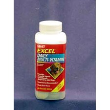 Pervinal Excel Multi Dog Vitamins 60 piecesExcel Daily Multi-Vitamin w/ Ester C - Adult Dog Formula