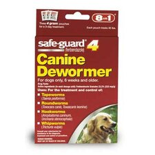 Safeguard Wormer for Large Dogs (4 grams)