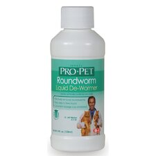 Pro-Pet Roundworm Liquid De-Wormer for Cats