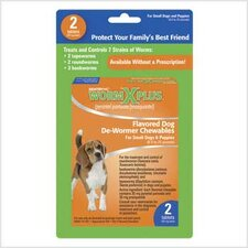 Worm X Plus Chewable for Small Dogs (2 Tablet)