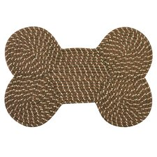 Dog Bone Brown Rug