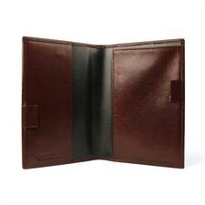 Old Leather Prescription Pad in Dark Brown