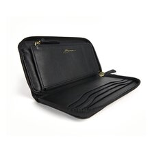 Nappa Vitello Zip Around Wallet