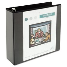 "3"" Comfort Grip Round Ring View Binder"