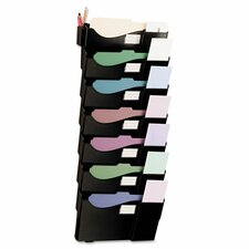 Grande Central 7-Pocket Wall Mount Filing System