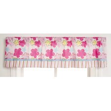 Girl Woodland Rod Pocket Tailored Curtain Valance