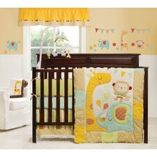 Jungle Friends 4 Piece Crib Bedding Collection