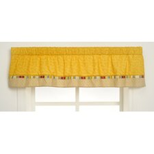 Jungle Friends Rod Pocket Tailored Curtain Valance