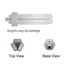 4-Pin Tri-Tube CFL Lamp