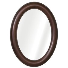 Oval Framed Medicine Cabinet in Oil Rubbed Bronze