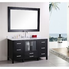 "Stanton 60"" Single Modern Bathroom Vanity Set"