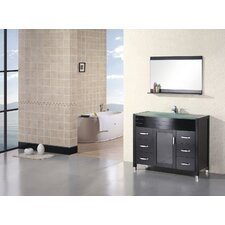 "Waterfall Cascade 47.25"" Single Sink Vanity Set"