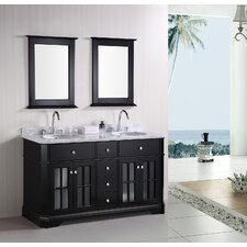 "Imperial 60"" Double Sink Bathroom Vanity"