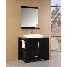 "Washington 36"" Modern Bathroom Vanity Set"