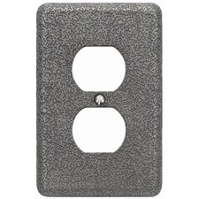 "4.87"" Olde World Outlet Plate"