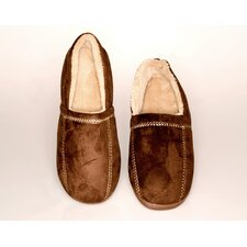 Suede Fleece Men's Slipper